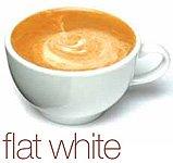 סוגי קפה - לבן